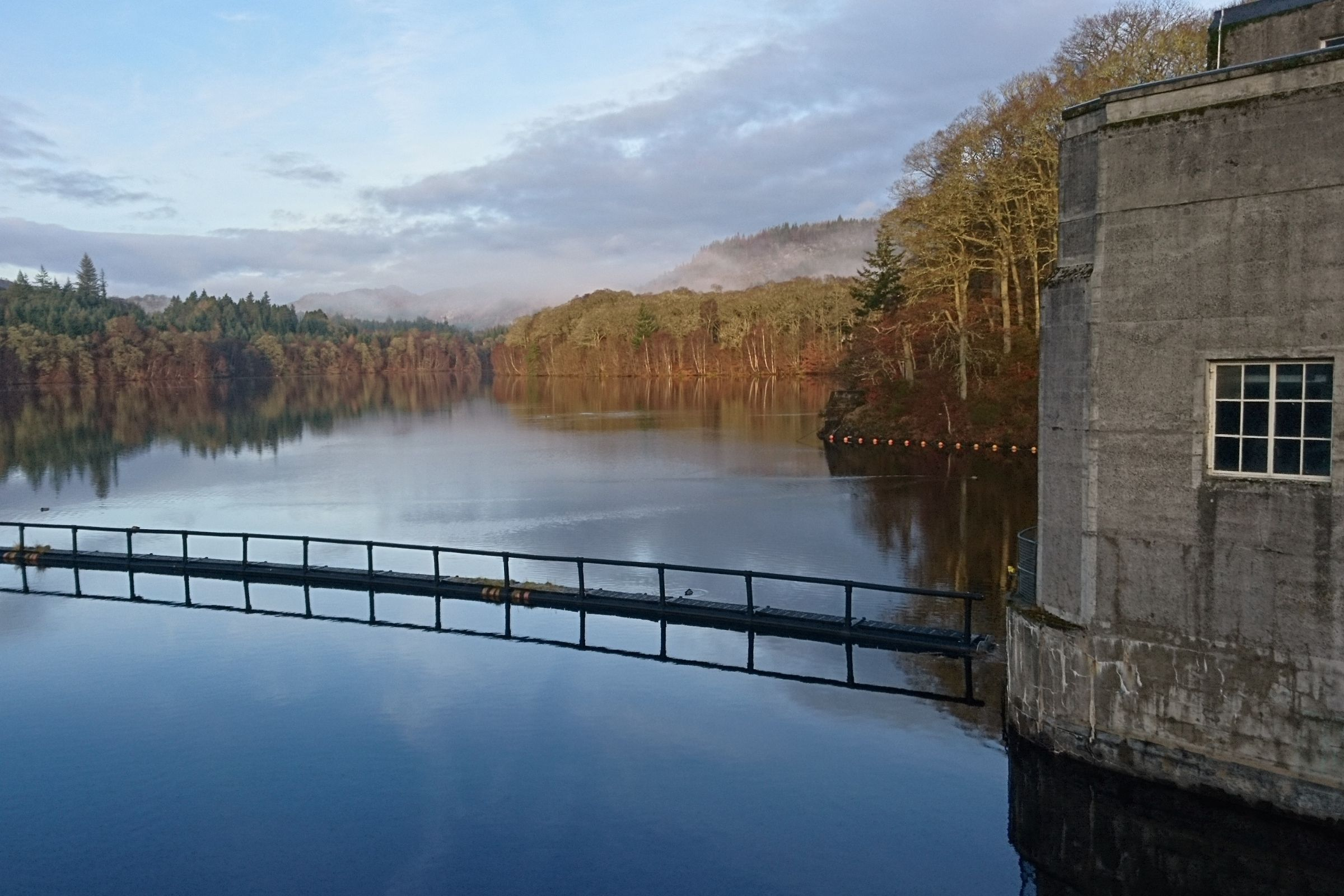 Pitlochry dam near rosemount hotel