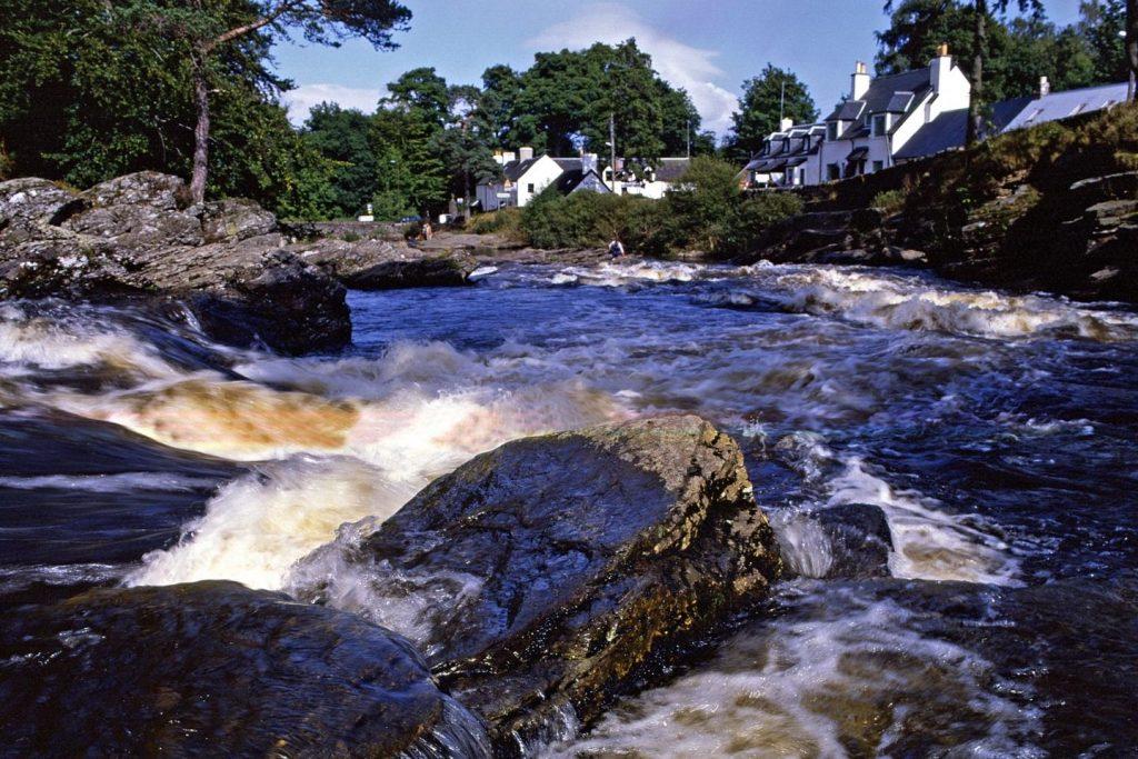 Falls of Dochart, Killin, Perthshire