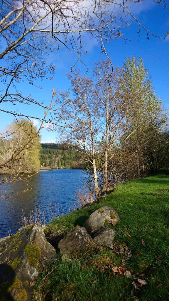 Spring Break Near Loch Faskally